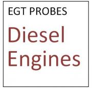 EGT Probes for Diesel Engines
