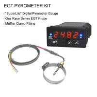 EGT Digital Pyrometer Gauge + Probe Kit - Gas Race Series MP