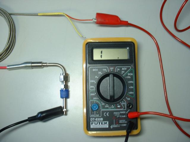 Checking EGT Probe Continuity