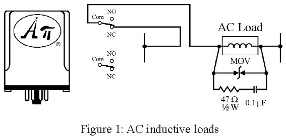 Switching AC Inductive Loads