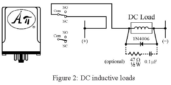 Switching DC Inductive Loads